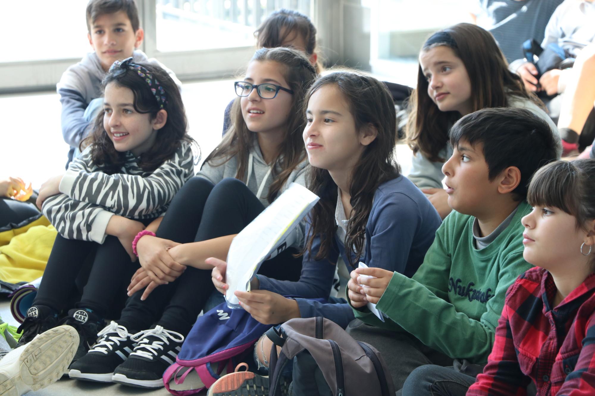 Alumnes de 5è de El Colomer